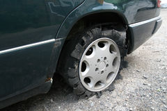 Véhicule de pneu Photographie stock