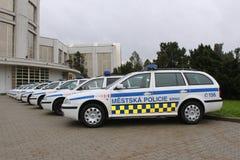 Véhicule de police Images stock
