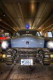 Véhicule 1951 de police d'état du Massachusetts Image stock