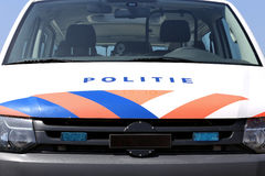 Véhicule de police hollandais Photos stock