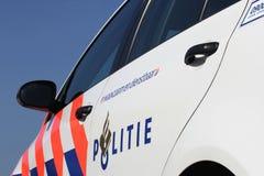 Véhicule de police hollandais images stock