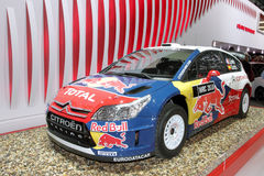 Véhicule de rassemblement de Citroen WRC - Salon 2010 de l'Automobile de Genève Photo libre de droits