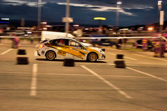 Véhicule de rassemblement de Subaru Impreza WRX Photos libres de droits