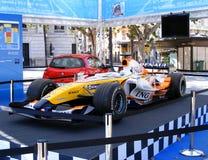 Véhicule de Renault F1 photos stock