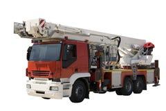 Véhicule de sapeur-pompier Photo libre de droits