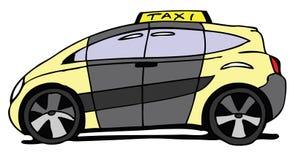 Véhicule de taxi illustration de vecteur