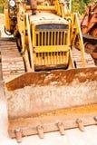 Véhicule de tracteur à chenilles Photo libre de droits