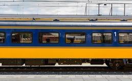 Véhicule de train de première classe de Néerlandais Image stock