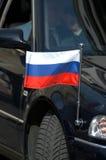 Véhicule diplomatique russe photo libre de droits