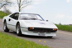 Véhicule Ferrari de cru 308 GTB de 1977 Photo stock