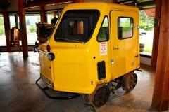 Véhicule ferroviaire antique d'inspection Image libre de droits