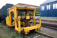 Véhicule ferroviaire de réparation Image libre de droits