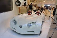 Véhicule hybride de concept de CSS Toyota Images libres de droits