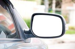 Véhicule latéral de miroir Photographie stock