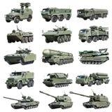 Véhicule militaire blindé russe moderne dépisté et à roues Photos libres de droits