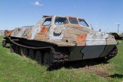 Véhicule militaire soviétique de la deuxième guerre mondiale Photo libre de droits