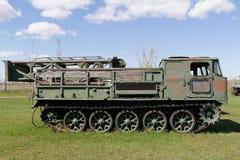 Véhicule militaire soviétique de la deuxième guerre mondiale Photos libres de droits