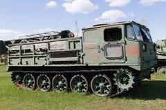 Véhicule militaire soviétique de la deuxième guerre mondiale Image stock