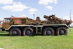 Véhicule militaire soviétique de la deuxième guerre mondiale Images stock