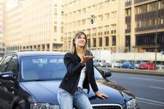véhicule neuf Photos stock