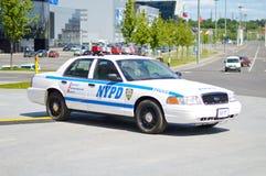 Véhicule officiel de NYPD Photographie stock