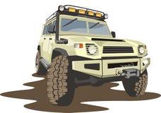 Véhicule pour de mauvaises routes Image libre de droits