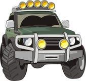 Véhicule pour de mauvaises routes Image stock