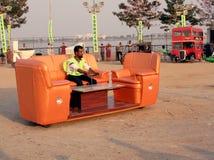 Véhicule réglé de sofa - véhicules farfelus Photo stock