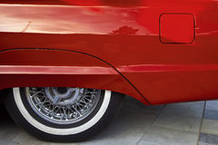 Véhicule rouge Image libre de droits