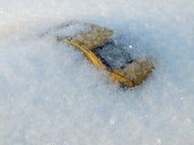 Véhicule sous la neige Photos libres de droits
