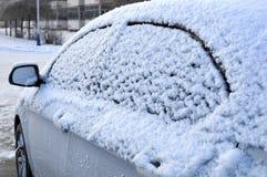 Véhicule sur la neige Photo stock