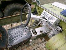 Véhicule tout-terrain de vieille voiture photo libre de droits