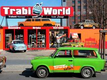 véhicule trabant photographie stock