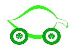 Véhicule vert Photos libres de droits