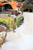 Véhicules abandonnés Photo libre de droits