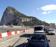 véhicules britanniques Espagne de cadre à l'attente Photographie stock libre de droits
