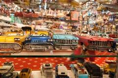 Véhicules de jouet image stock