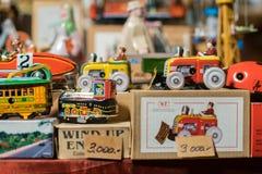 Véhicules de jouet en métal image libre de droits