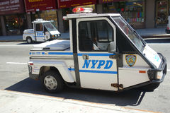 Véhicules de NYPD Go-4 photos libres de droits