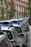 Véhicules de police allemands Photos libres de droits