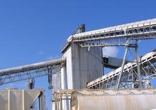 Véhicules de silo et de train Photos libres de droits