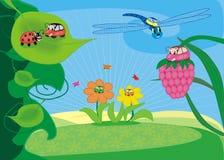 Véhicules non polluants illustration libre de droits