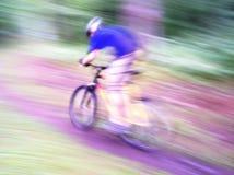 Vélo à Lightspeed Images libres de droits