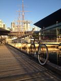 vélo à Melbourne Images stock