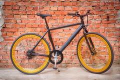 Vélo électrique noir Photo libre de droits