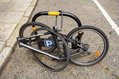Vélo avec le peu absent Photo stock