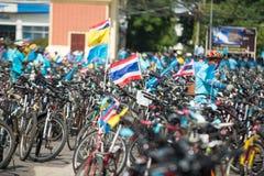 Vélo d'événement pour la maman Images libres de droits