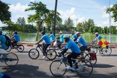 Vélo d'événement pour la maman Photos libres de droits