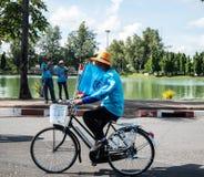 Vélo d'événement pour la maman Image libre de droits