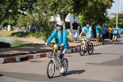 Vélo d'événement pour la maman Photographie stock libre de droits